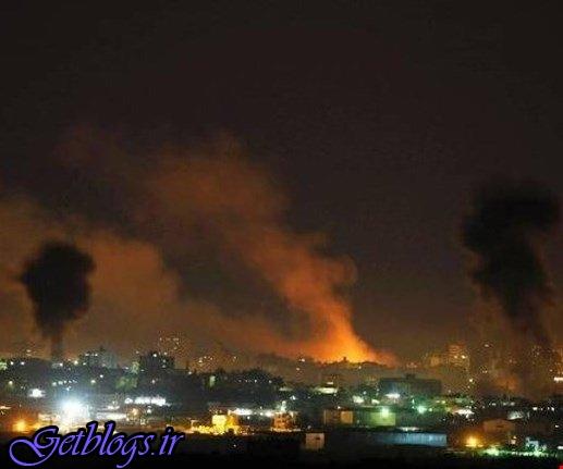 حمله جنگندههای رژیم صهیونیستی به مناطقی از نوار غزه