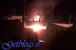 به آتش کشیدن مرکز پلیس/ یک کشته و 6 زخمی ، ناآرامی در کازرون