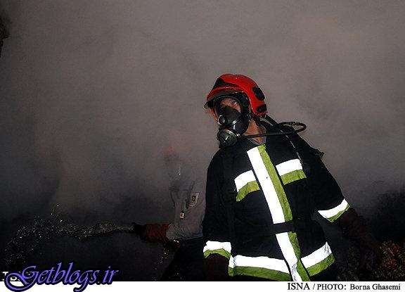 آتش نشانان مصدوم اتفاق انفجار مغازه خیابان شالیکوبی گرگان هوشیارند