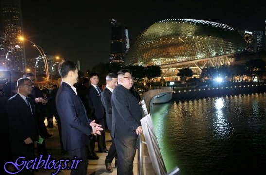 از توان اقتصادی سنگاپور بسیار آموختم / رهبر کرهشمالی