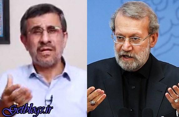 کنایه دوباره لاریجانی به احمدینژاد