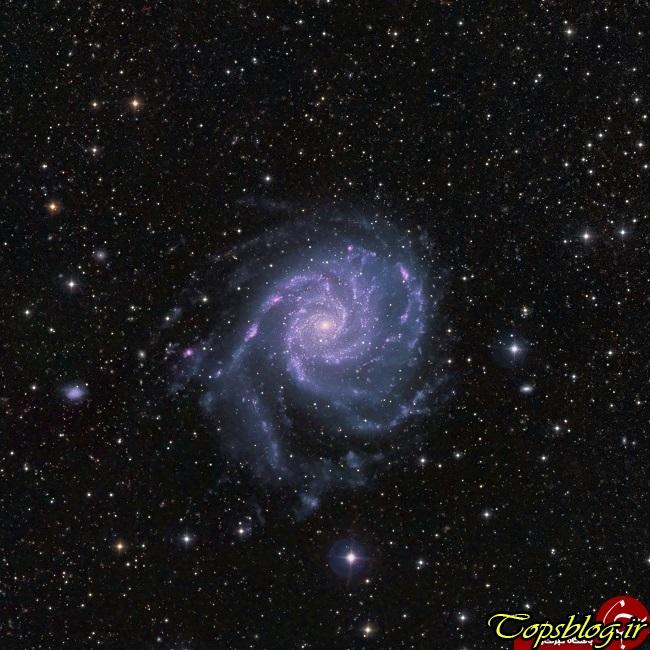 مناظری منحصربهفرد از کهکشان فرفره
