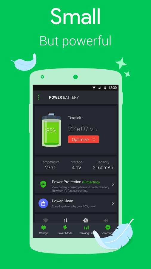 افزایش شگفت انگیز عمر باتری ، دانلود Power Battery Saver 1.8.7.1 جهت اندروید