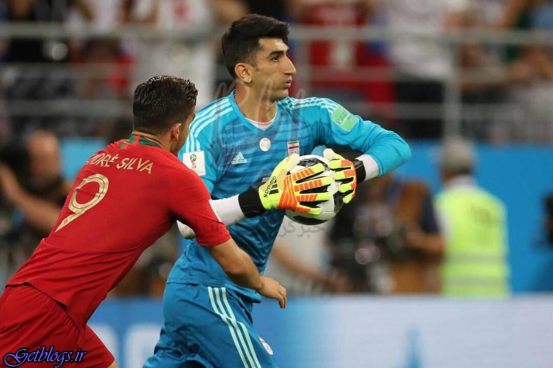 دیدار تیمهای کشور عزیزمان ایران و پرتغال