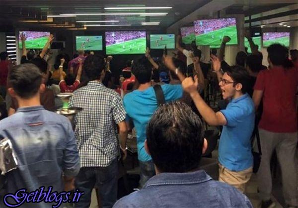پخش فوتبال در کافی شاپ ممنوع نیست / پلیس