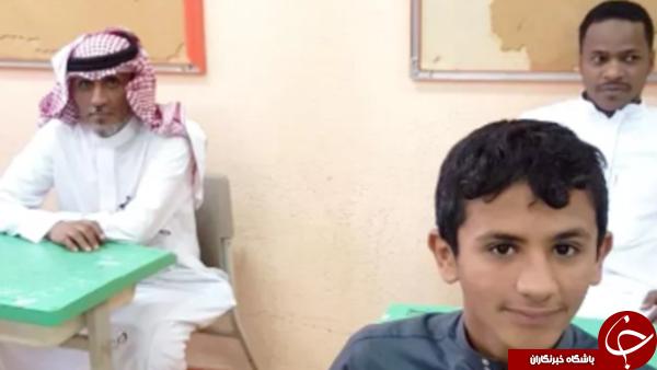 عکس + پدر و پسری در مکه سوژه رسانه ها شدند