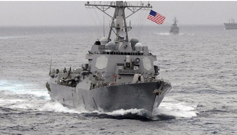 به کشتی آمریکایی جهت خروج از دریای جنوبی چین هشدار دادیم / پکن