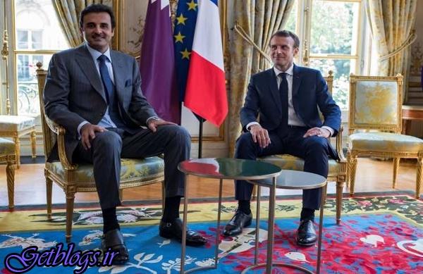 فرانسه روابط استراتژیک با قطر دارد / ماکرون