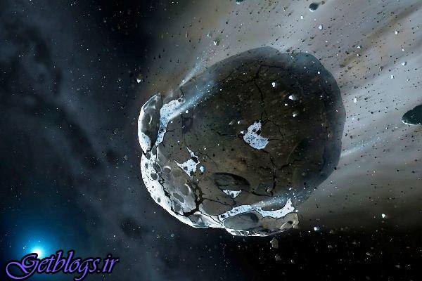 کشف سیارک غنی از کربن خارج از منظومه شمسی