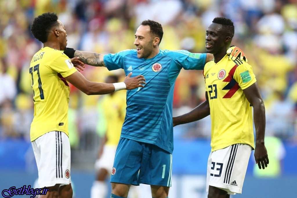 کلمبیا با شکست سنگال افزایش کرد
