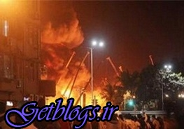 آتش سوزی هتل زائران ایرانی در نجف