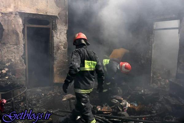 ۸ کشته و مصدوم در اتفاق آتشسوزی منزل مسکونی در آبادان