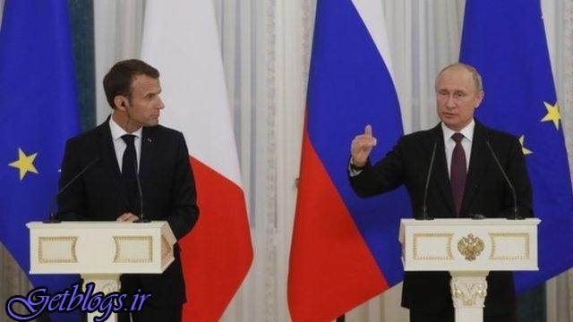 لغو دیدار آمریکا-کرهشمالی تاسفبرانگیز است/ لغو برجام اثرات بدی دارد ، پوتین در دیدار با ماکرون