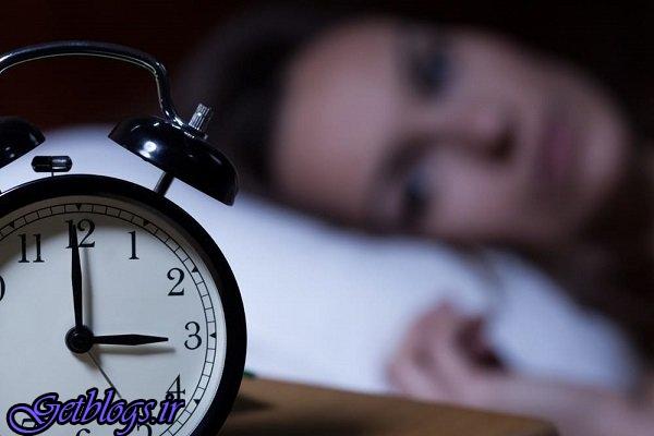 بی خوابی های شبانه خطر فوت زودهنگام را زیاد کردن می دهد