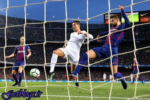 بارسلونا ۱۰ نفره هم نباخت ، تساوی ال کلاسیکو در شب پر اتفاق نیوکمپ
