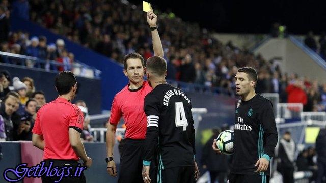 احتمال محرومیت راموس در نیمه نهایی لیگ قهرمانان