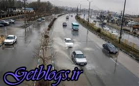 رگبار باران و وزش باد شدید در بعضی مناطق کشور