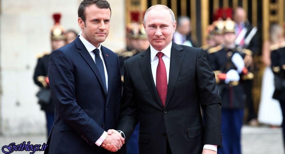 تاکید مکرون و پوتین بر حفظ و اجرای کامل برجام