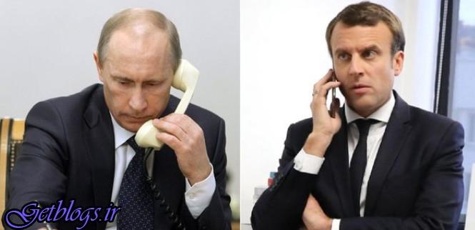 هشدار پوتین به ماجراجوییهای کودکانه ماکرون